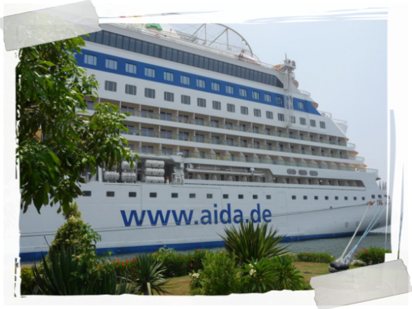 on Tour mit dem Cruise-Ship